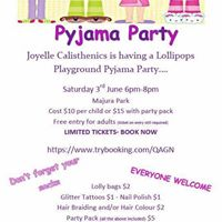 Joyelle Pyjama Party