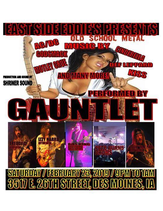 East Side Eddies presents Gauntlet
