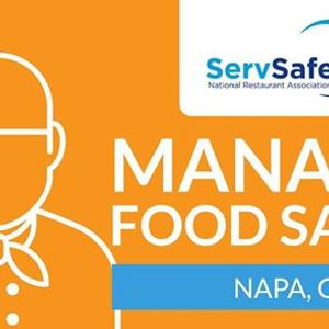 Napa CA ServSafe Manager Food Safety Class and Exam