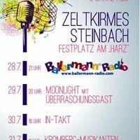 Groe Zeltkirmes in Steinbach