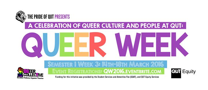 Qut Weekly Calendar : Queer market day week at qut kidney lawn