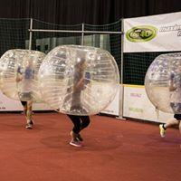 Bubble Soccer auf der sport.aktiv Messe