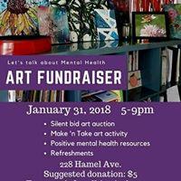 Lets Talk About Mental Health- Art Fundraiser