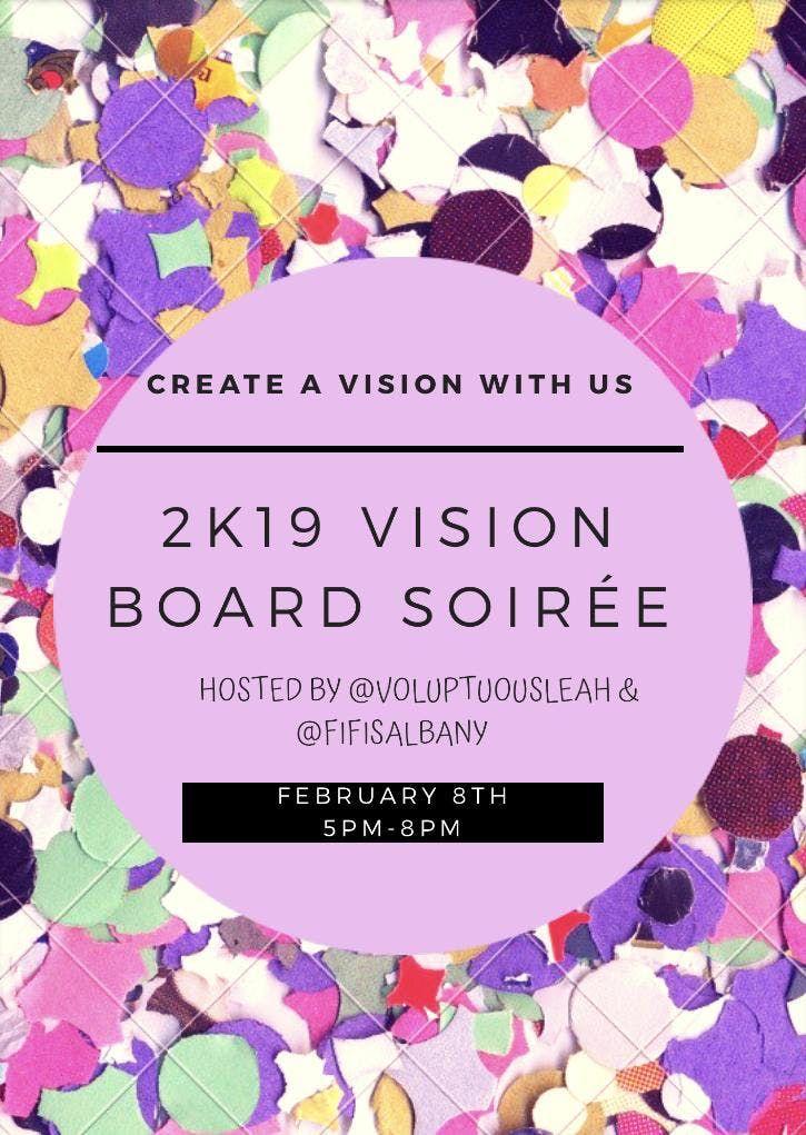 2K19 Vision Board Soire