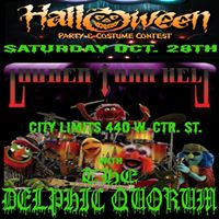 Louder Than Hell with Delphic Quorum 80s Halloween party