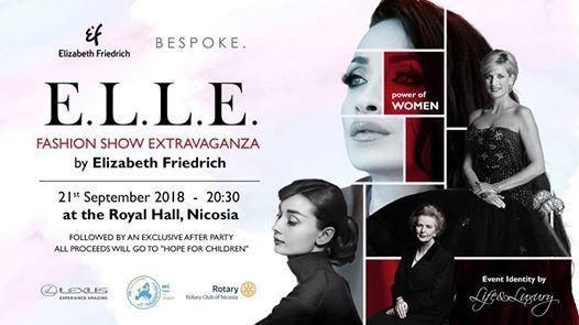 ELLE Fashion Show Extravaganza by Elizabeth Friedrich