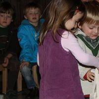 Gottesdienst mit Kindern und Erwachsenen mit unseren Kitakinder
