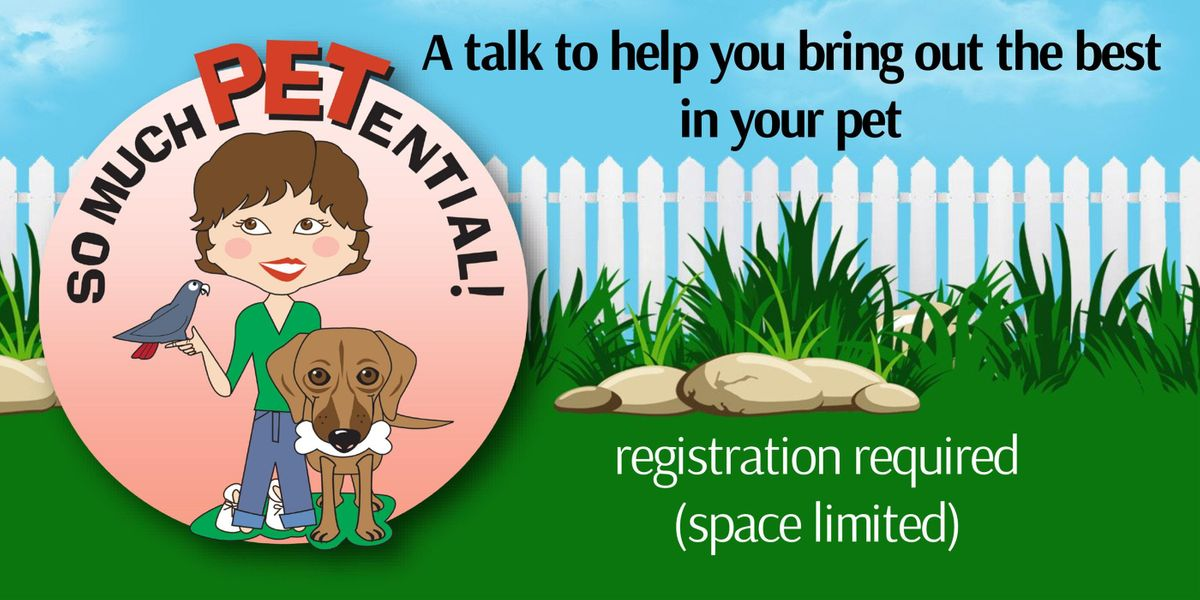 Oh Behave - A Talk To Help Bring Out The Best In Your Dog