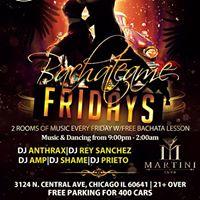 New Bacheateame Fridays - 2RM of Music Legacy Dance Studio