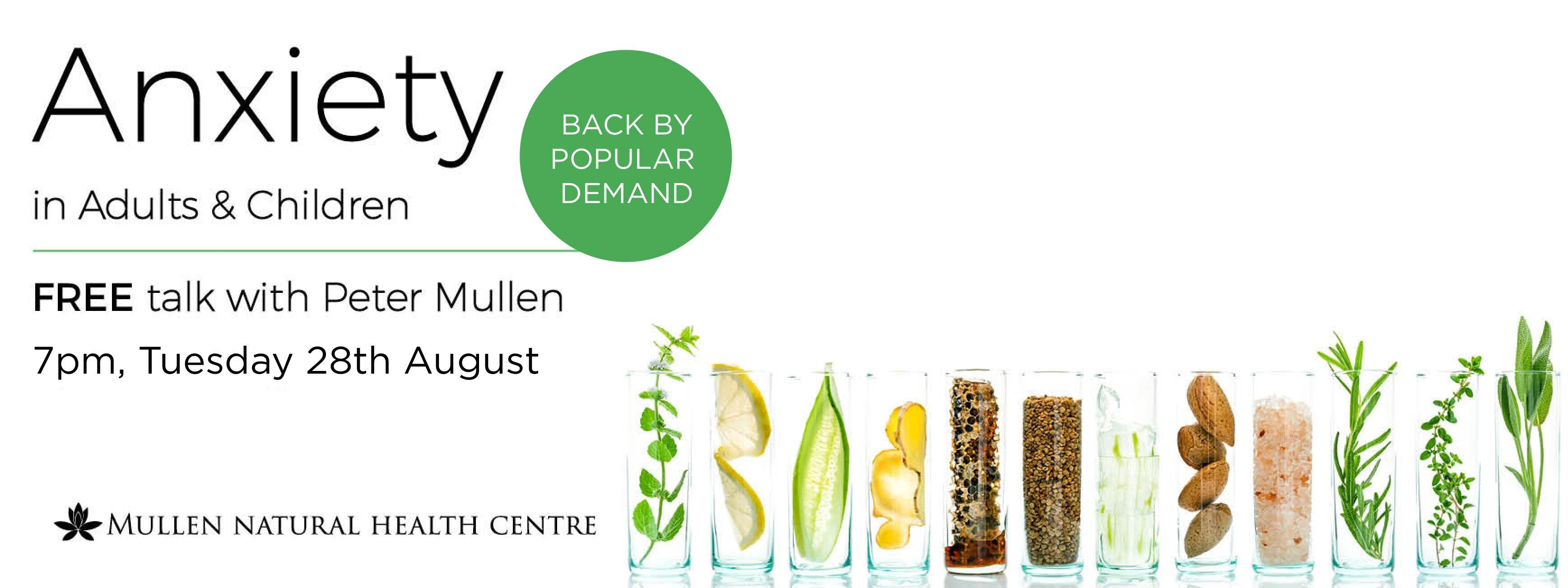 By Popular Demand Another Free Talk At >> Natural Remedies For Anxiety In Adults Children Back By Popular