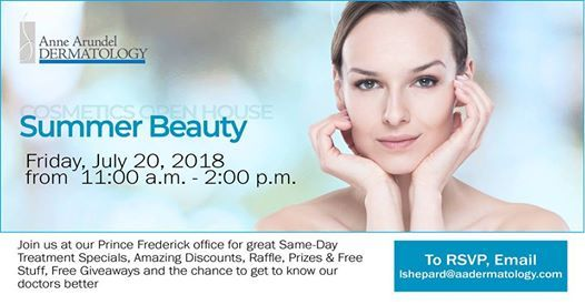 Summer Beauty Cosmetic Open House at 995 North Prince