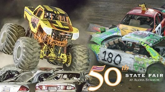 Demo Derby & Monster Trucks - 50th State Fair