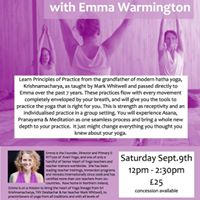Introduction to the Heart of Yoga with Emma Warmington