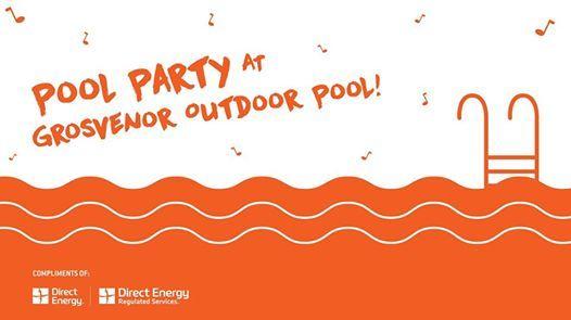 Pool Party! at Grosvenor Pool, St Albert, Saint Albert