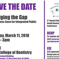 NYU Dentistrys 3rd Annual Public Health Conference