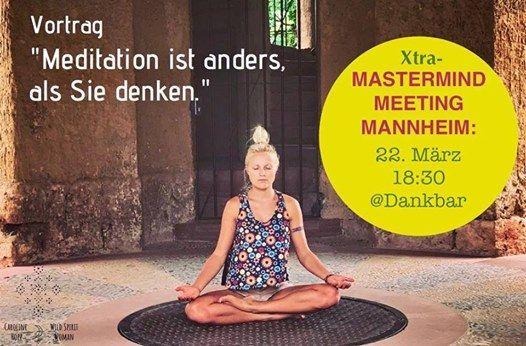 Zusatztermin  Meditation ist anders als Sie denken