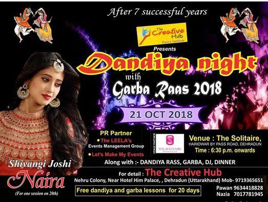 Dandiya Night with Garba Raas 2018