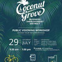Public Visioning Workshop