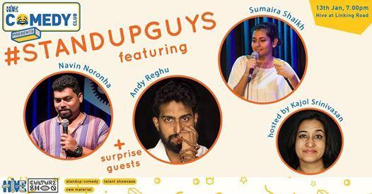 Standup Guys feat Navin Noronha Andy Reghu & Sumaira Shaikh