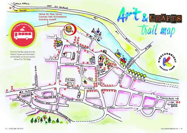 Kirkcudbright Arts And Crafts Trail
