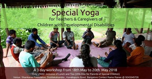 Special- Yoga for Teachers & Caregivers of Special Children