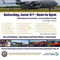 6th Annual Hudson Valley Regional Airport Open House &amp Car Show