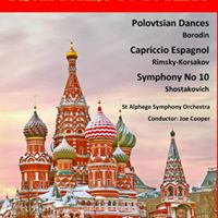 From Tsars to Soviets - orchestral concert