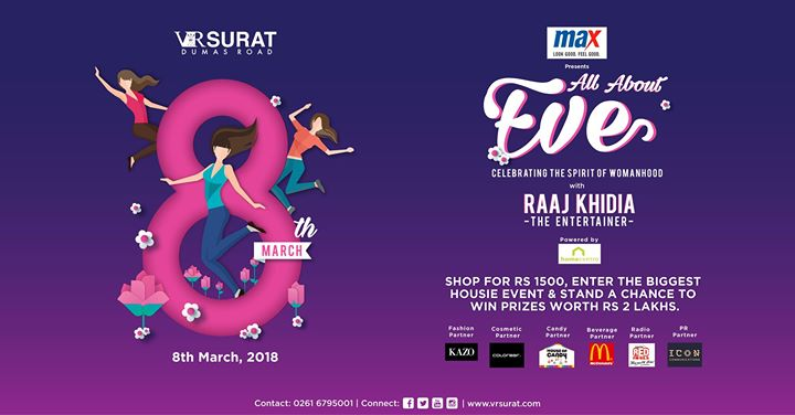 All About Eve - Womens Day 2018