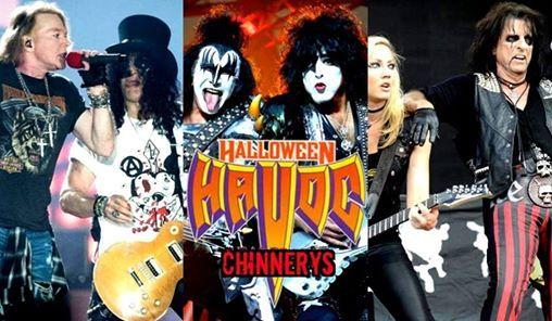 guns n roses vs kiss vs alice cooper halloween havoc southend