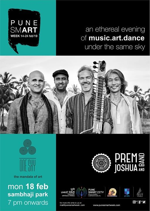 Prem Joshua & Band | Feb 18 Pune SmART Week Festival at Chatrapati