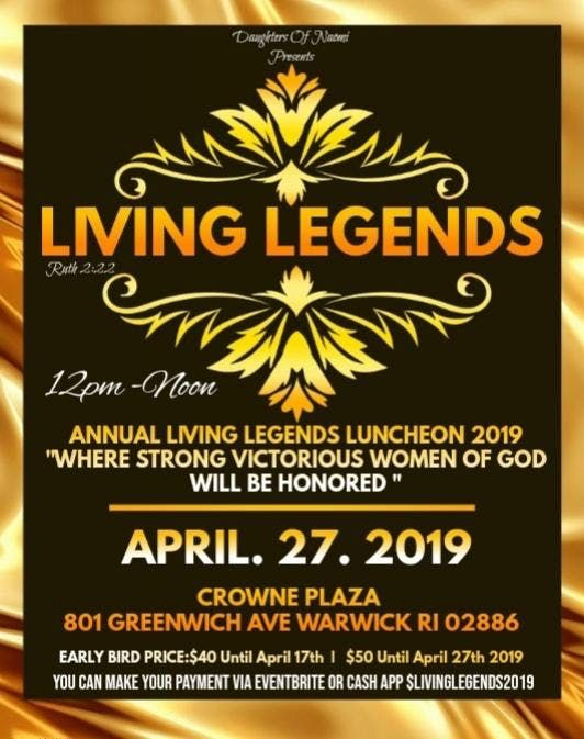 Living Legends Luncheon 2019