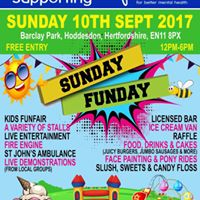 Sunday funday - Supporting MIND -  10th SEPT - Hoddesdon
