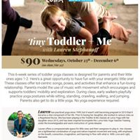Tiny Toddler and Me Yoga at MOD