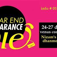 Clearance sale fair