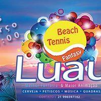 Luau Beach Tennis Fantasy
