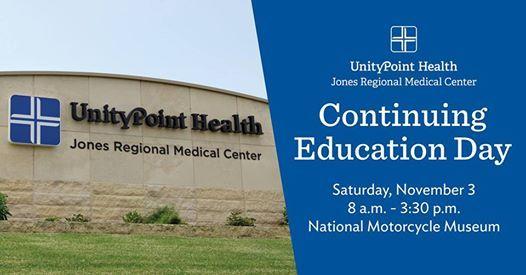 Continuing Education Day At Jones Regional Medical Center Iowa