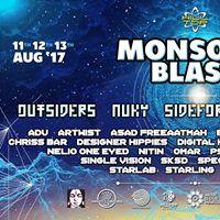 HillTop Goa Monsoon Blast 11th  12th  13th August 2017