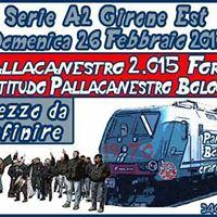 Pallacanestro Forl 2015 -  Fortitudo Bologna