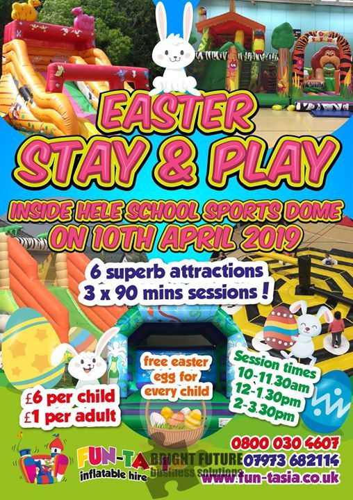 Easter Stay & Play inside the Life Centre