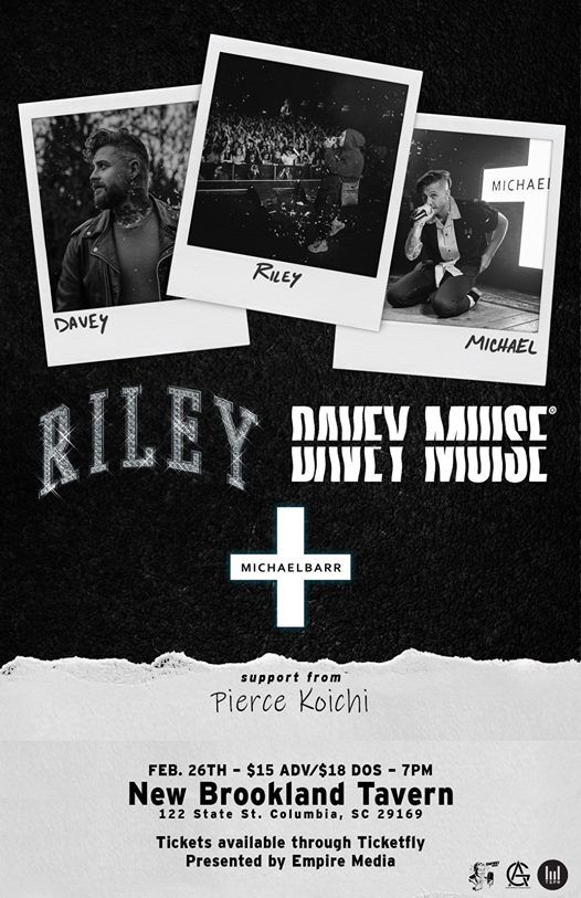 R I L E Y Davey Muise Michael Barr and more