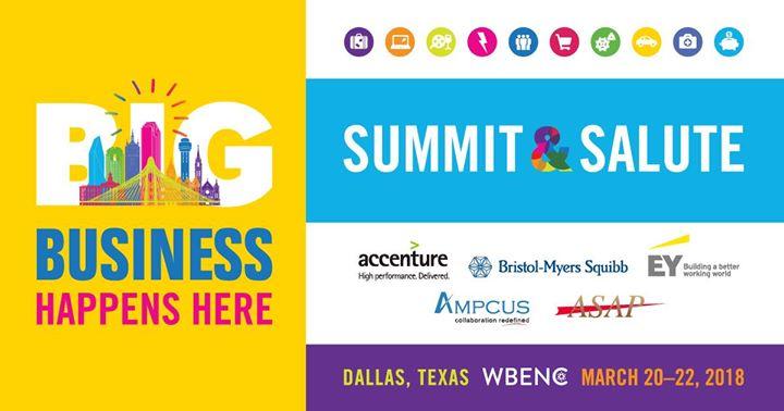 2018 WBENC Summit & Salute - Dallas TX