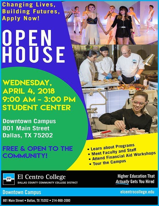 El Centro College 2018 Spring Open House