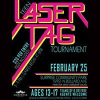 Teen Laser Tag Tournament