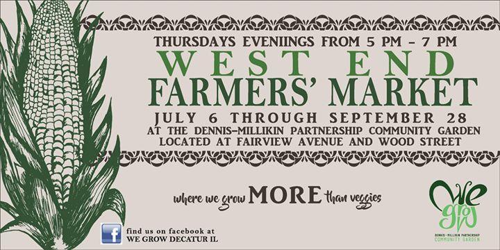 West End Farmers Market at Decatur, IL, United States, Decatur