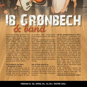 Ib Grnbech (koncert kl. 20 )