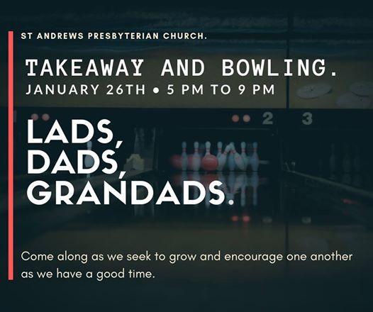 Lads Dads Grandads Takeaway & Bowling
