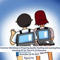National Seminar-Workshop on Preparing Quality Teaching and Lear