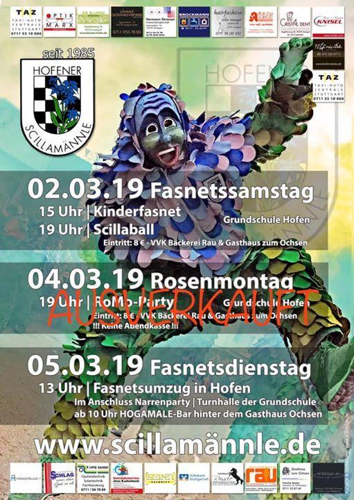 RoMo-Party - Turnhalle Grundschule Hofen - AUSVERKAUFT
