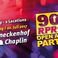 RPR1. 90ER Open Air Party Mannheim