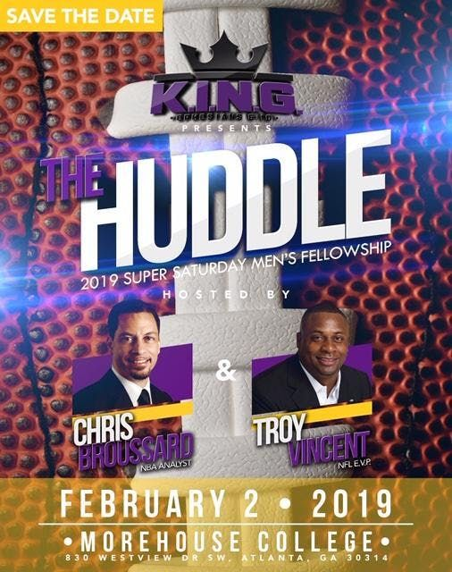 The Huddle Hosted by Chris Broussard and Troy Vincent